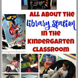 Library Station In Kindergarten Classroom