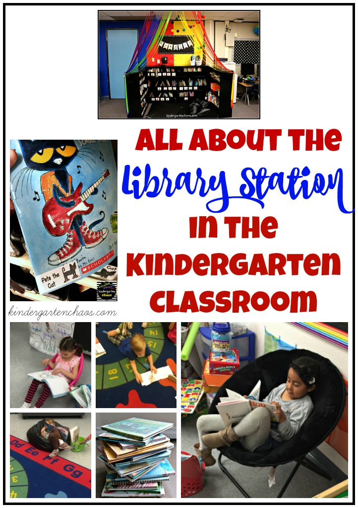 The Library Station in the Kindergarten Classroom