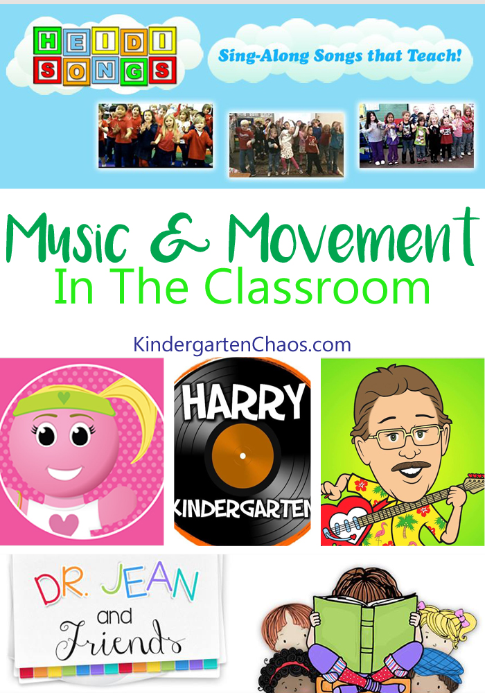 Music and Movement In The Classroom - Ideas For Incorporating Music and Movement That Helps Students Learn