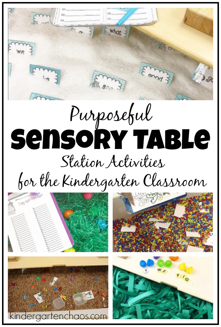 Creating A Purposeful Sensory Table For The Classroom