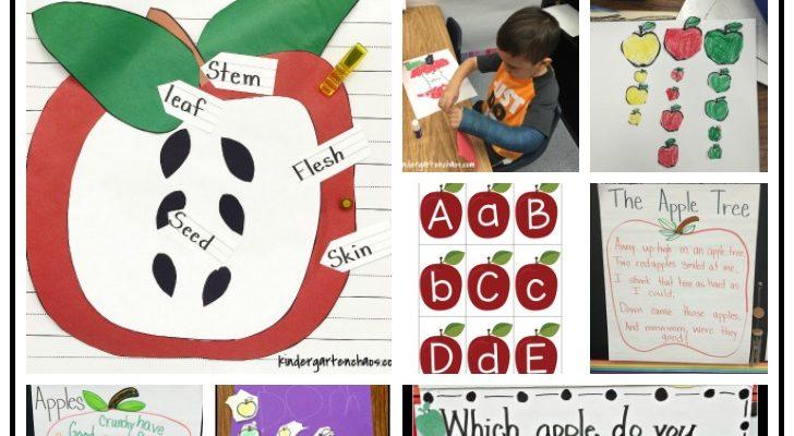 Apples in Kindergarten