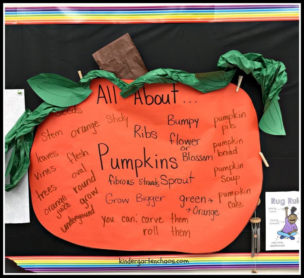 Pumpkins Printables and Worksheets