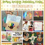 November and Thanksgiving Activities for Kindergarten