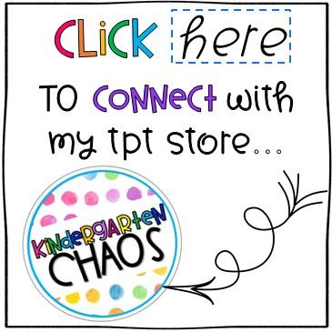 Kindergarten Chaos TPT Store
