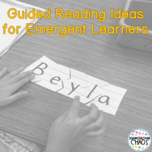Guided Reading for the Pre-A Reader – Chapter 2 of The Next Step Forward in Guided Reading