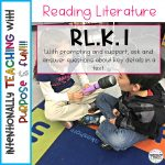 How to Teach the Kindergarten Literacy Standards – RL.K.1