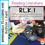 How to Teach the Kindergarten Literacy Standards – RL.K.1