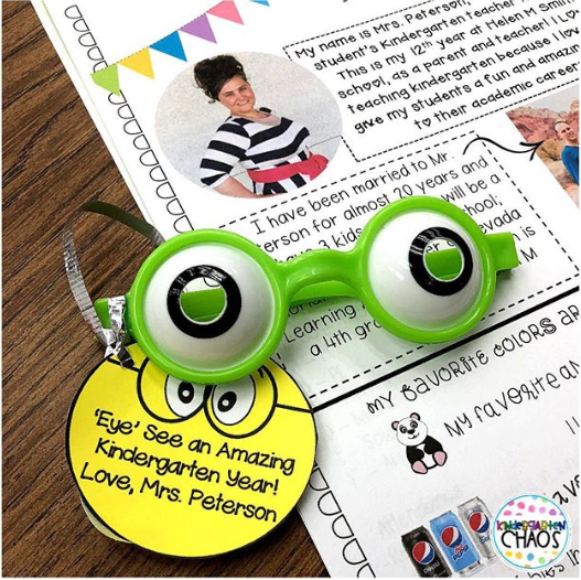Free Editable Back To School Gift Tag For Students! #backtoschool #studentgift #kindergartenteacher #elementaryteacher