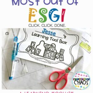 ESGI Learning Tool Box for Parents and Students