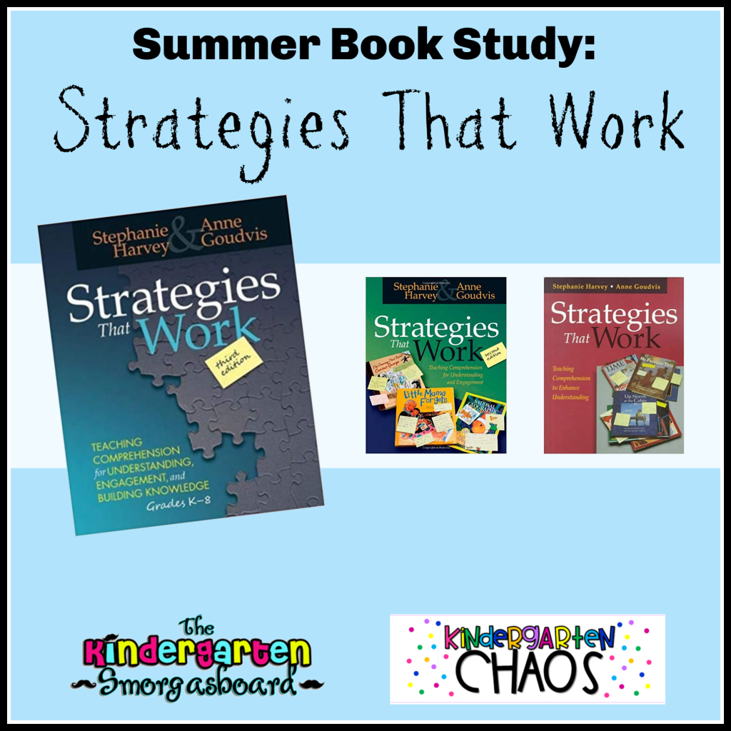 A Summer Book Study for teachers to help reinforce literacy and reading comprehension in the classroom through tools and a literacy rich classroom.