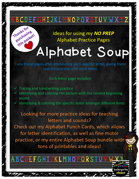 Under the Nose - Are you ready for it?? Alphabet Soup... | Facebook | 350x271