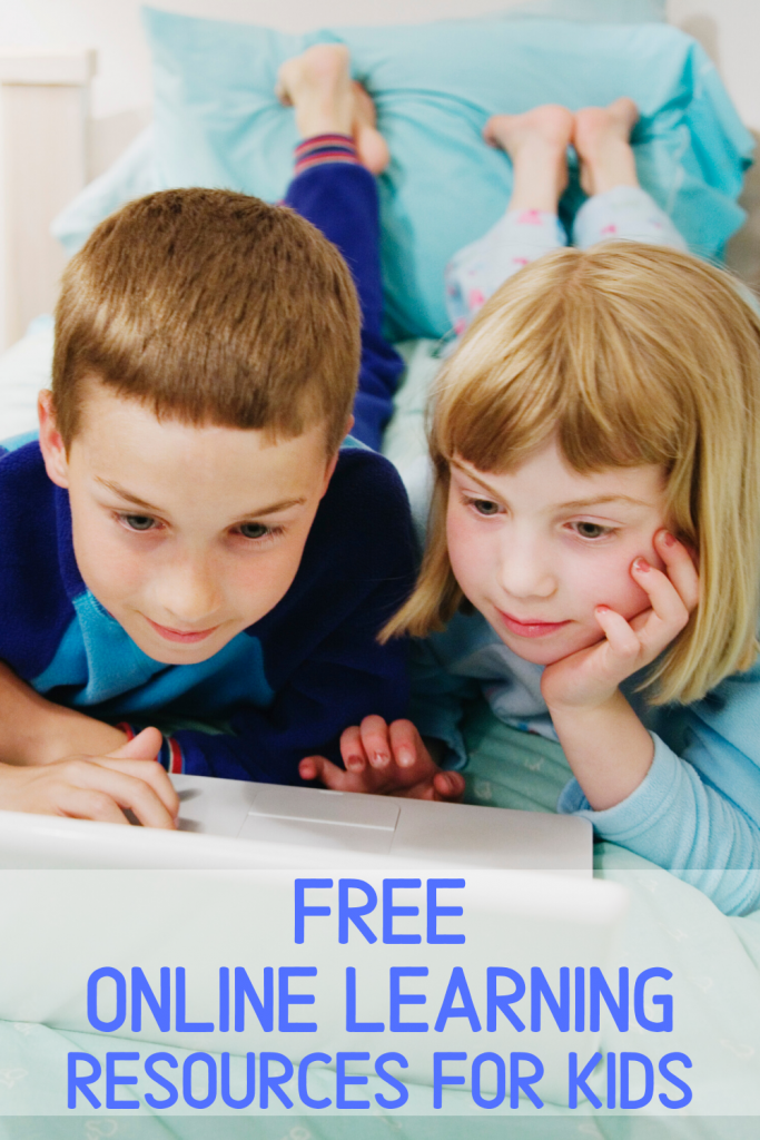 Free Online Learning Resources For Kids During School Closures From Corona Virus #schoolclosure #onlinelearning #learningresources