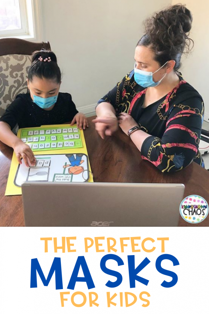 The perfect solution to a problem that most teachers are facing: MASKS! These are the best ones out there! #facemasks #inpersonschool #PPE