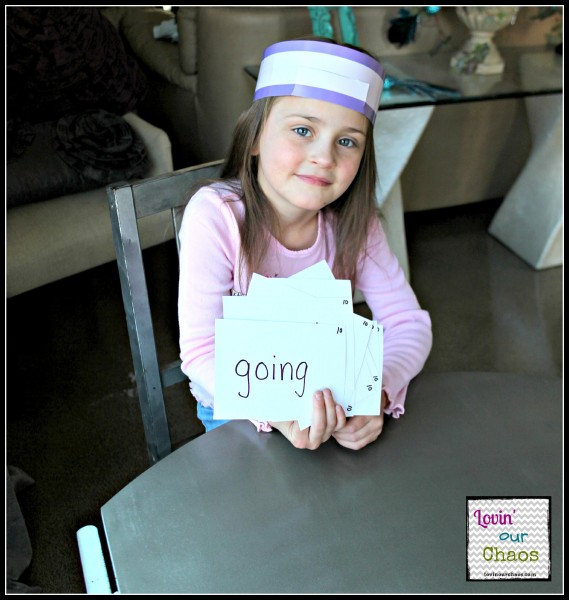 Sight Word HeadBandz Game