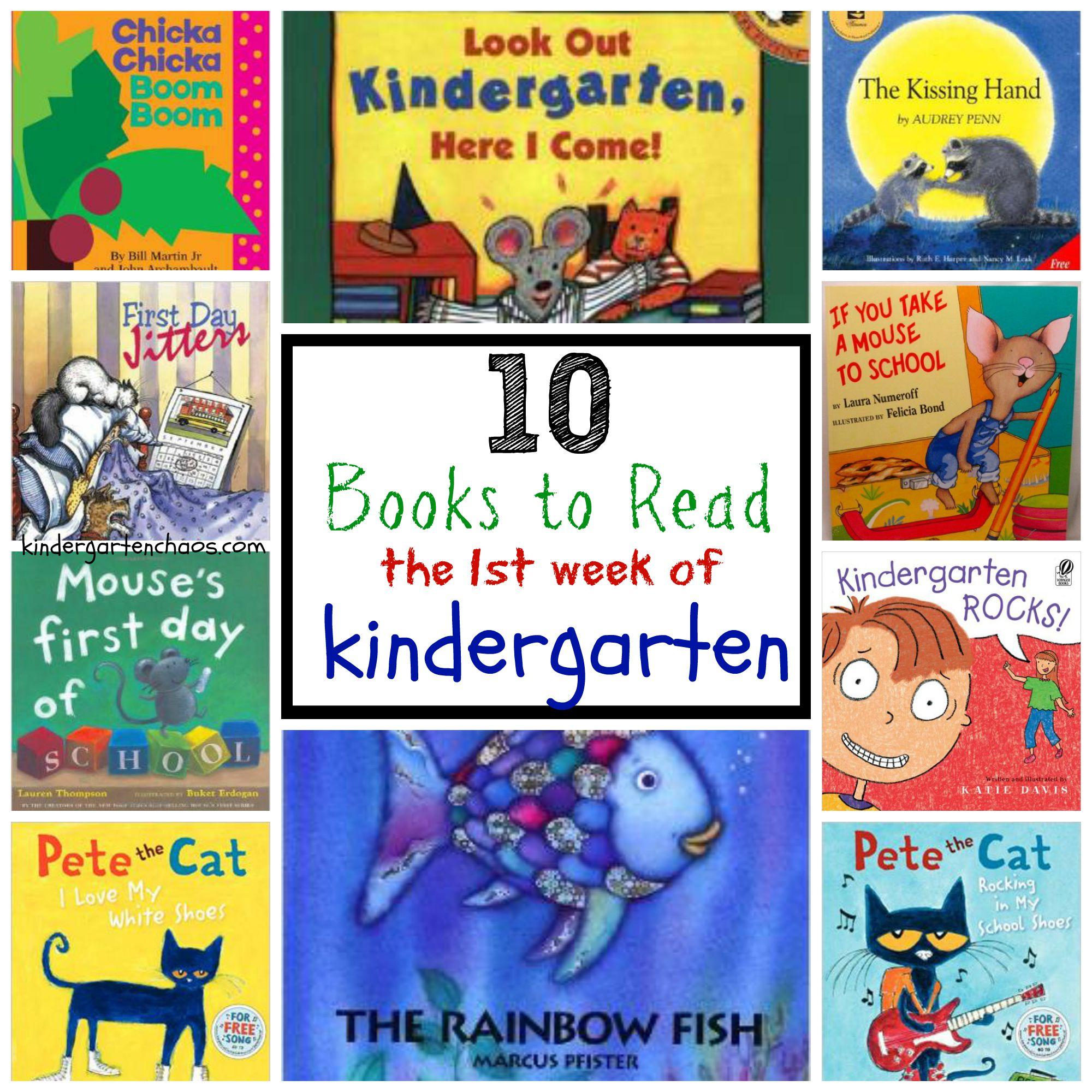 10 Best Books to Read the 1st Week of Kindergarten - Best Kindergarten Books