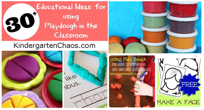 30+ Ways To Use Playdough in the Classroom