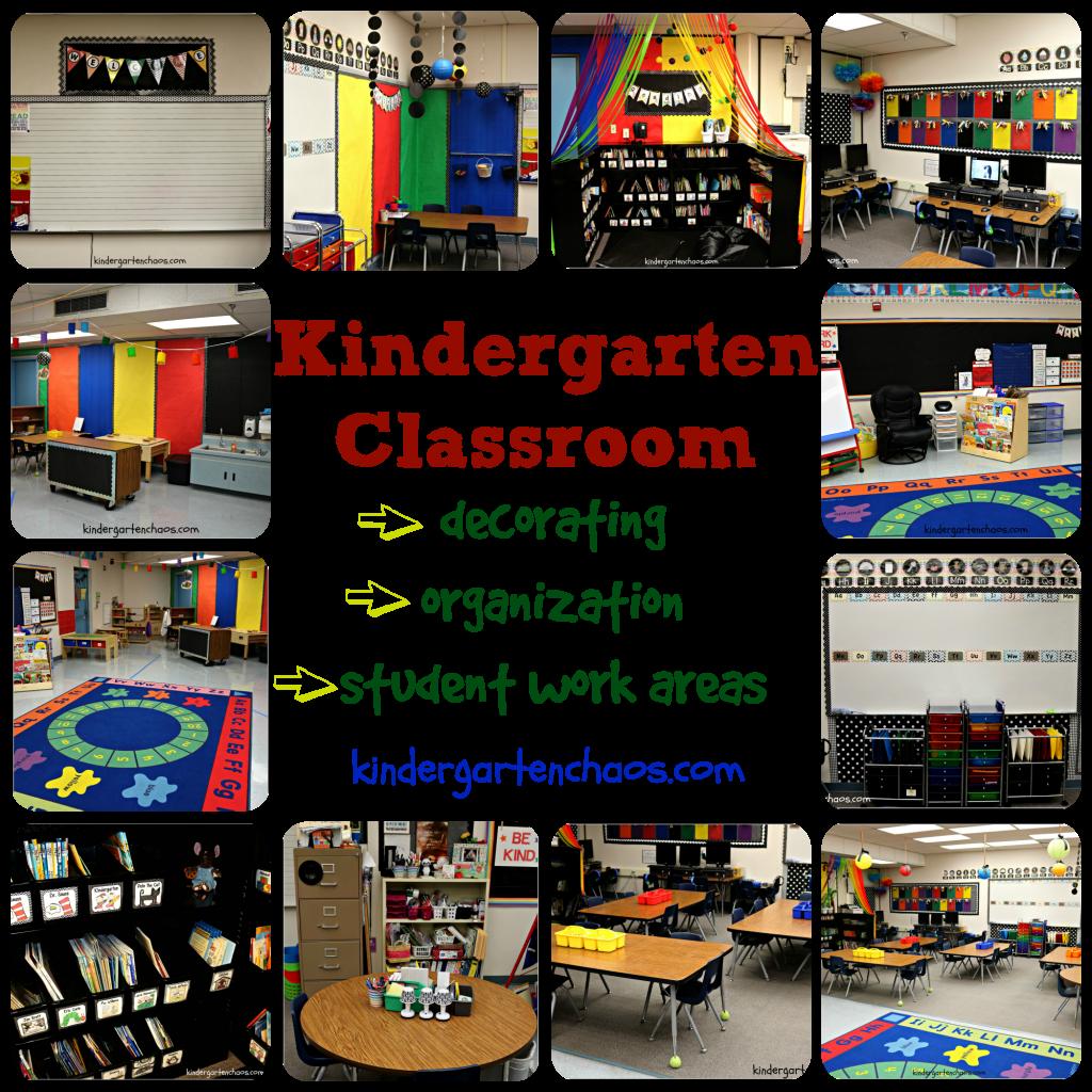 My Kindergarten Classroom Reveal: Organization ...