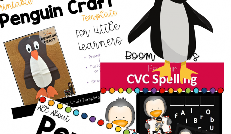 Ideas For Penguin Week in Your Kindergarten Classroom