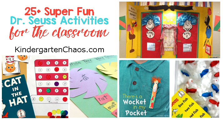 25+ Super Fun Dr. Seuss Ideas For Your Classroom