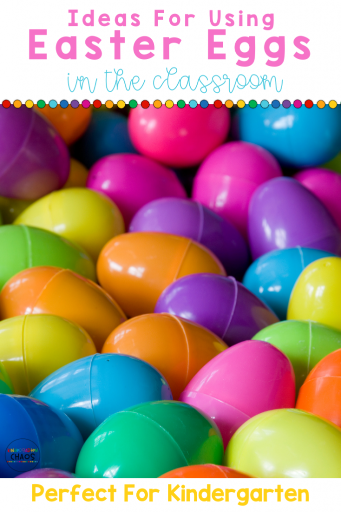 40+ Creative Ways To Use Plastic Easter Eggs In The Classroom
