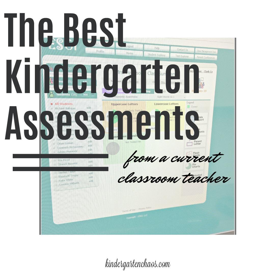 Easy Kindergarten Assessments