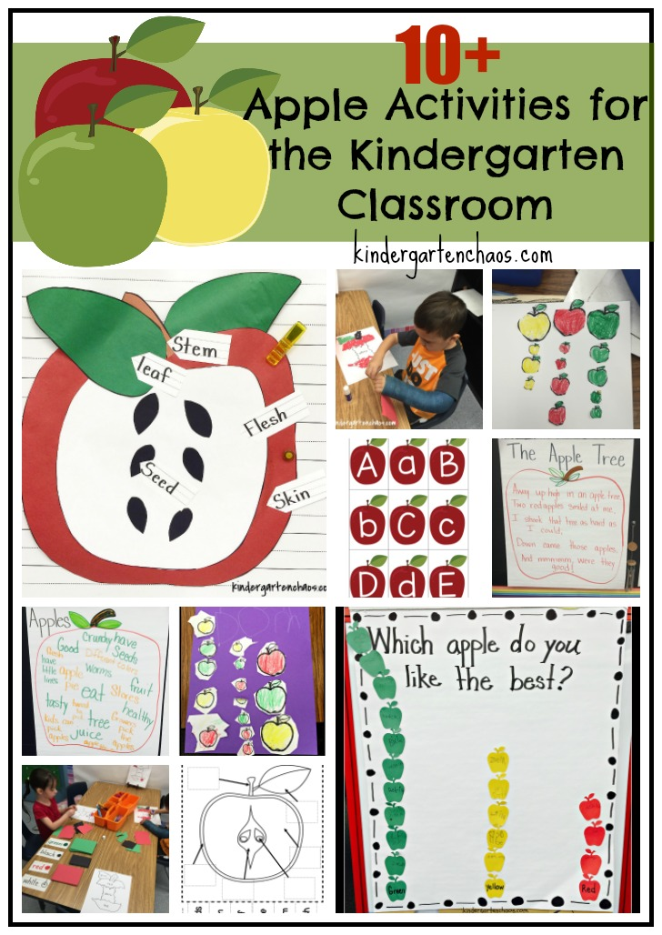 Apples in Kindergarten