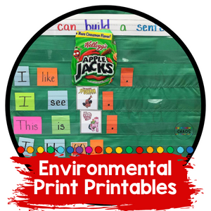 Using Environmental Print in the Classroom