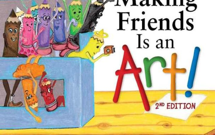Author Julia Cook – Making Friends is an Art 2nd Edition