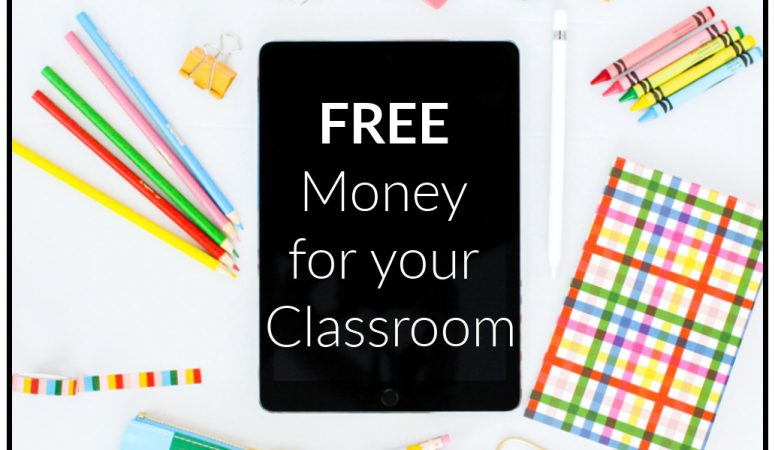 Free Money for your Classroom