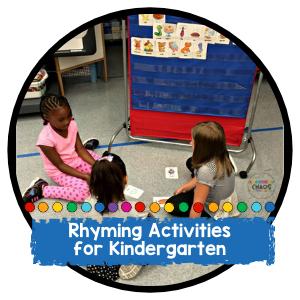 Fun Rhyming Activities For Your Kindergarten Classroom
