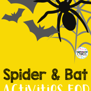 Spider & Bat Activities