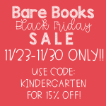Bare Books Black Friday Sale