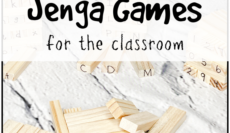 Jenga Tumbling Towers Games for the Classroom