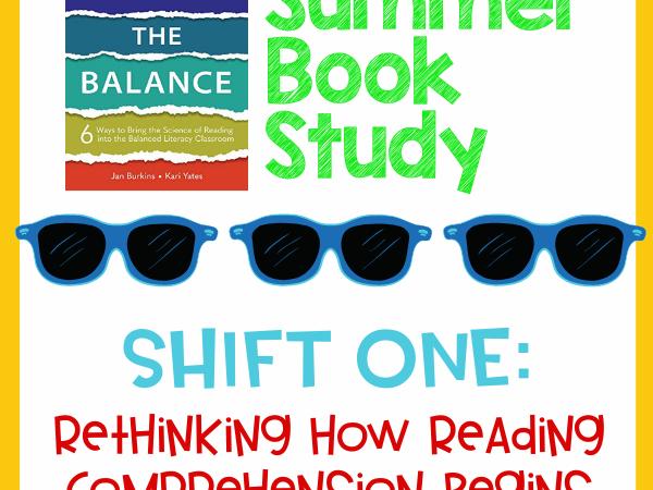 Summer Book Study – Shifting the Balance Week 1