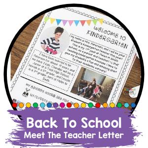 Free Meet The Teacher Letter