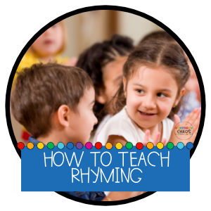 How to Teach Rhyming to Little Learners